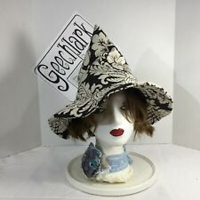 Hedge witch hat, wizard, wiccan, magic, cosplay, sz XL, Geechlark 6149