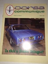 Corsa Communique Magazine A Yenko Stinger March 2004 033117NONRH