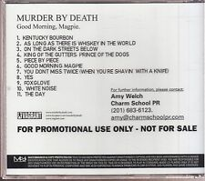 murder by death good morning magpie cd promo