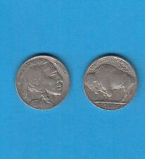 Etats-Unis USA Nickel Five-cents Indian Head or Buffalo 1935 Philadelphia Lot B