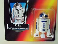 STAR WARS - THE POWER OF THE FORCE R2-D2 - LIGHT-PIPE EYE PORT / RETRACTABLE LEG