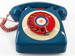 Mod Target Vintage British Dial Telephone from Sam Walker Shop of Covent Garden