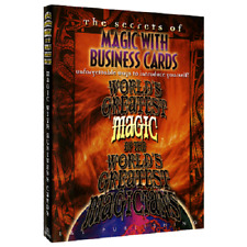 Download Video - Magic with Business Cards (World's Greatest Magic) Magic Trick