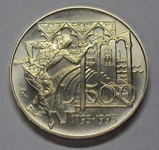 ITALIA REPUBBLICA 1993 500 LIRE GOLDONI DA DIVISIONALE ZECCA FDC