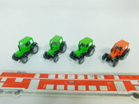 BO490-0,5# 4x Wiking H0/1:87 Traktor/Trecker/Bulldog Deutz Fahr DX 4.70, NEUW