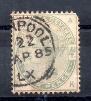 GB QV 1883 4d green SG192 fine used WS10273