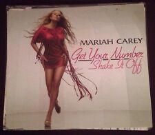 Mariah Carey Get Your Number Shake It Off CD Single 2 Tracks 2005