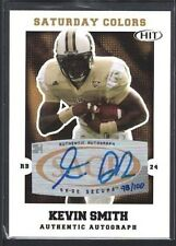 KEVIN SMITH 2008 SAGE HIT SATURDAY COLORS GOLD AUTOGRAPH 98/100 $25