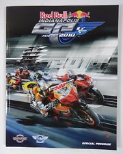2010 Red Bull Indianapolis Moto GP Race Program MotoGP Moto2 Moto3 Dani Pedrosa