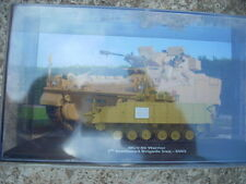 "DIECAST TANK "" MCV-80 WARRIOR 7th ARMOURED BRIGADE IRAQ - 2003 "" SCALA 1/72 (n4)"