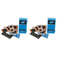 Park Tool VP-1 Bike Tube Patch Kit 2-Pack Vulcanizing Rubber flat tire repair