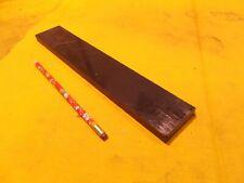 SIMONA USA BLACK HDPE BAR machinable plastic flat sheet stock 1/2