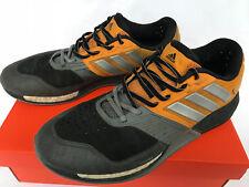 Adidas CrazyTrain Boost AQ5302 Black Orange Marathon Running Shoes Men's 10.5