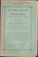 The East Anglian or Notes & Queries Rv Evelyn White Vol VIII Jan-Dec 1900 12 iss