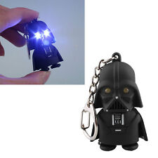 Star Wars Darth Vader ABS Action Figure Toy w/ LED Light&Sound Keychain Gift
