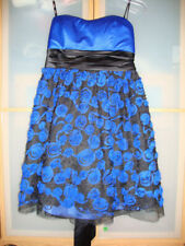 Xoxo Damas Magnífico Diseñador Vestido Sin Tirantes Baile de graduación Fiesta Boda Talla 12 BNWT £ 70