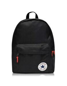 Converse Chuck Taylor Backpack Rucksack Black Kids School Gym 28 litres