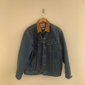 Vintage Lee Denim Jacket Size Large