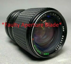 *FAULTY* Tokina Camera Lens - 35-105mm 1:35-4.3 - Suits Pentax *FOR PARTS ONLY*