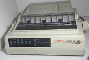Okidata Microline 320 GE5253P 9 Pin Dot Matrix Printer - Untested