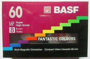 BASF - 60 8 MP - Super High Grade 8mm Video Cassette - New & Sealed