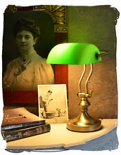 Banker Art Nouveau Lampe de bureau table