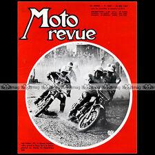 MOTO REVUE N°1838 VISITE CHEZ DUCATI GRAND PRIX CROSS DE FRANCE JOËL ROBERT 1967