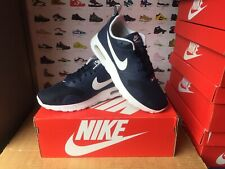 "Men's Nike""AIR MAX TAVAS""Trainers Size UK 5-EU 38 Navy-White USED TWICE"