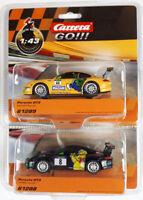 Carrera GO SET Porsche GT3 Haribo + Maoam 1:43 Slotcar Auto GO Plus 61288 61289