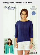 DK/Double Knit Cardigan Crocheting & Knitting Patterns
