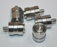 Lot of 5 NSK ISC Micro Precision HDD Pivot Bearings Threaded /w Shaft - Robotics