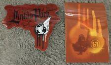 Linkin Park Sticker Set (2) stickers Chester Bennington Licensed