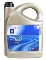 ORIGINAL GM OPEL Motoröl Öl LongLife dexos 1 Gen2 5W-30 5W30 95599877 | 5 Liter