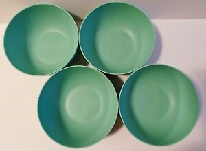 Room Essentials - 37oz Plastic Mint Green Cereal Bowl - Lot of 4 - New