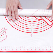 Baking Mat Non-slip Thicken Mat Pastry Rolling Mat Baking Tray Pad with Scale