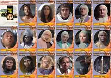 Beneath The Planet of the Apes (1970) movie trading cards. Nova Heston