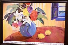 "Fran Wohlfelder ""The Hamptons"" Painting Large Framed artwork limited edition"