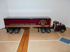 First Gear Ray Meyer Fossils R-600 Mack t/trailer,1:34 scale MIB,stock # 19-2629