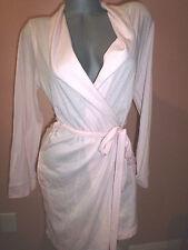 VICTORIA'S SECRET Sleepover Cotton Knit Short Robe SZ-LARGE