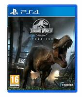 Jurassic World Evolution (PS4 PlayStation 4) (NEU & OVP) (Blitzversand)