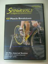 Cycling Indoor Dvd Spinervals 4.0 Muscle Breakdown workout triathlon fitness