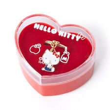Hello Kitty Heart Cased Nostalgic Ring Sanrio From Japan F/s