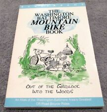 Washington Baltimore Mountain Bike Book Scott Adams 1994 Greatest Off-Road Rides