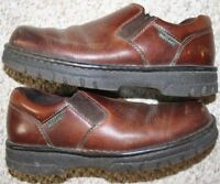 Eastland Dress Shoes 8 D Leather Upper Solid Men's Loafers Brown Eight Man's