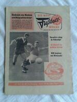 Die Neue Fußball-Woche, Nr. 22, 14. Jahrgang, DDR-Zeitung 1962, Fu-Wo