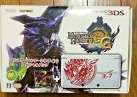 Nintendo 3DS Console Monster Hunter 3 Try G Special Pack Japan Working FedEx
