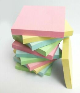"""Removable Sticky Post Notes 76mm x 76mm 3x3"""""""