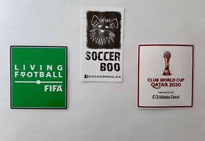 CLUB WORLD CUP QATAR 2020 TIGRES BAYERN PALMEIRAS PATCHES TOPPA BADGE