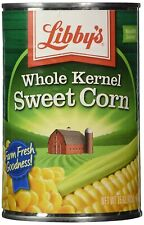 6 Libby's WHOLE KERNEL SWEET CORN 15.25oz each can