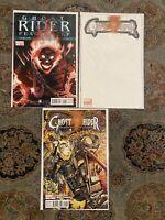 Ghost Rider 0.1 Or .1 & 1 2011 Marvel 1st app Alejandra Jones Cvr A & Blank